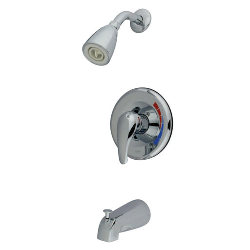 Kingston Brass Tub and Shower Faucet KB3631SWTV and KB651T in Polished Chrome