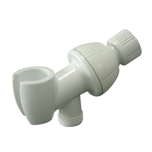 Kingston Brass Plumbing Parts Shower Arm Bracket in White-Bathroom Accessories-Free Shipping-Directsinks.