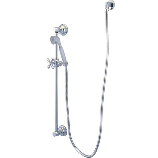 Kingston Brass Made to Match 4 Piece Shower Combo in Polished Chrome-Shower Faucets-Free Shipping-Directsinks.