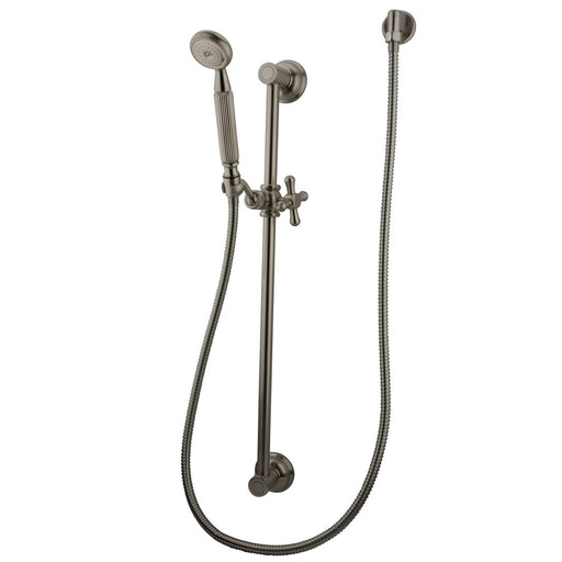 Kingston Brass Made to Match Satin Nickel 4 Piece Shower Combo-Shower Faucets-Free Shipping-Directsinks.