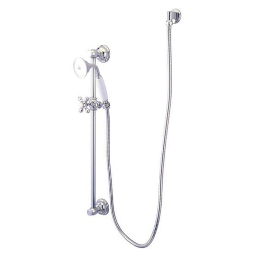 Kingston Brass Made to Match Polished Chrome 4 Piece Shower Combo-Shower Faucets-Free Shipping-Directsinks.