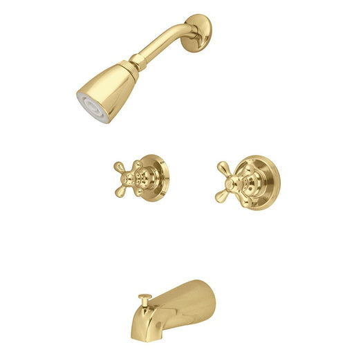 Kingston Brass Magellan Two Handle Tub and Shower Faucet-Shower Faucets-Free Shipping-Directsinks.