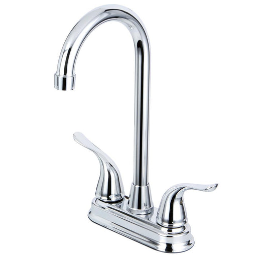 Kingston Brass Yosemite Two Handle 4-inch Centerset Bar Faucet-Bar Faucets-Free Shipping-Directsinks.