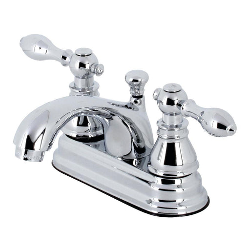 "Kingston Brass KB260XACL-P American Classic 4"" Centerset Bathroom Faucet"
