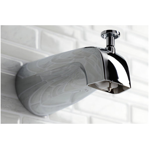 Kingston Brass KB3631PXT Tub and Shower Trim Only in Polished Chrome