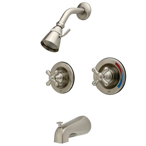 Kingston Brass Vintage Two Handle Tub and Shower Faucet-Shower Faucets-Free Shipping-Directsinks.