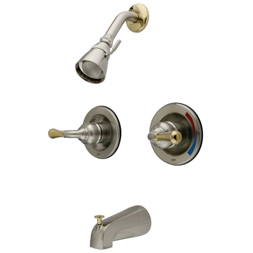 Kingston Brass KB679 Magellan Two Handle Tub and Shower Faucet-Shower Faucets-Free Shipping-Directsinks.