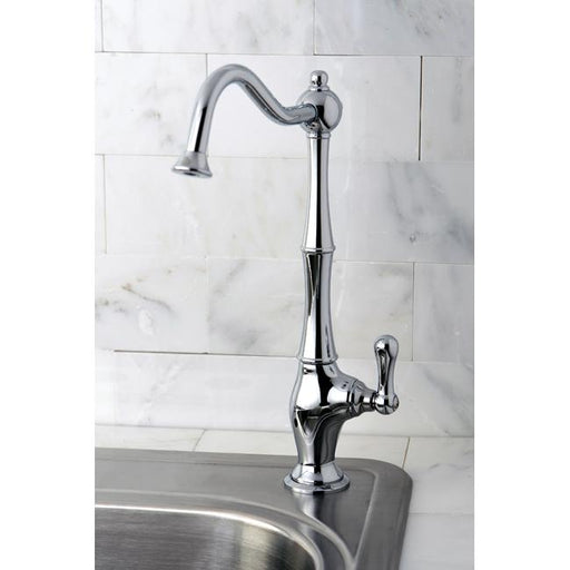 Kingston Brass Gourmetier Heritage Low-Lead Cold Water Filtration Faucet-Kitchen Faucets-Free Shipping-Directsinks.