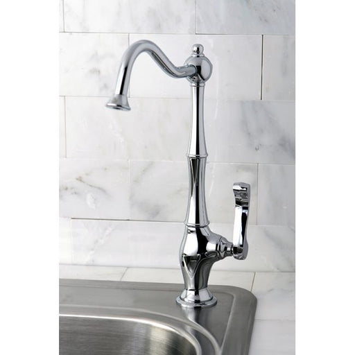 Kingston Brass Gourmetier Royale Low-Lead Cold Water Filtration Faucet-Kitchen Faucets-Free Shipping-Directsinks.
