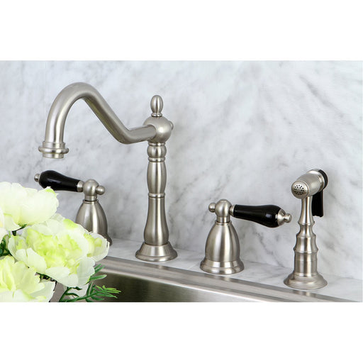 Kingston Brass Duchess Widespread 4-Hole Kitchen Faucet