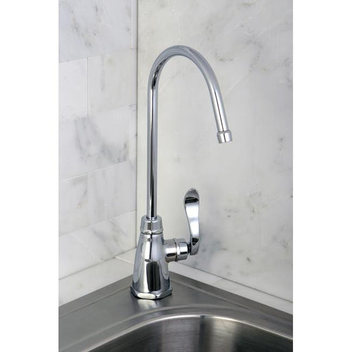 Kingston Brass Gourmetier NuWave French Low-Lead Cold Water Filtration Faucet-Kitchen Faucets-Free Shipping-Directsinks.