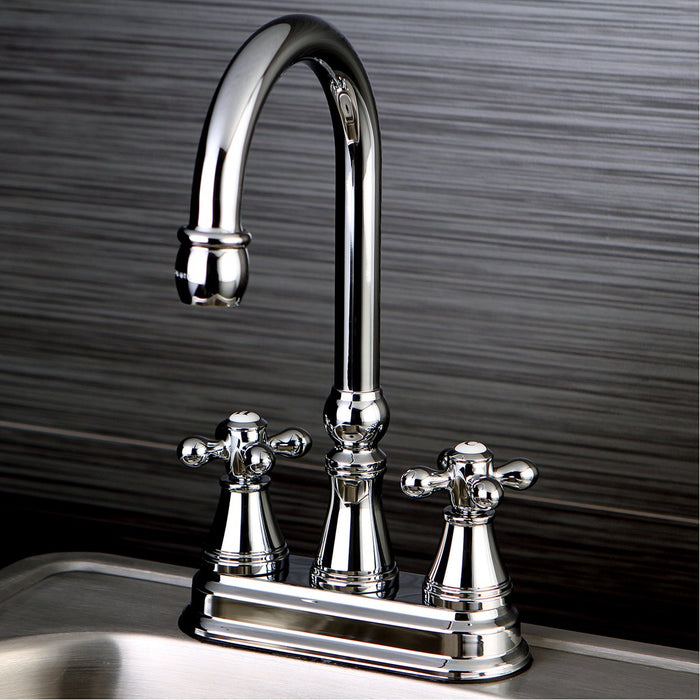 Kingston Brass Victorian Deck Mount Bar Faucet-DirectSinks