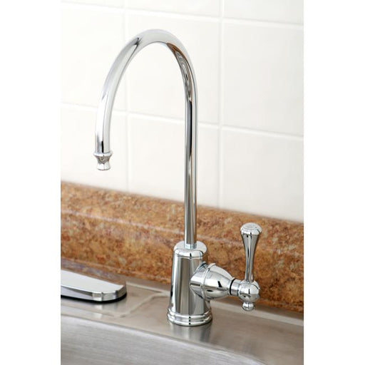 Kingston Brass Gourmetier Vintage Solid Brass Water Filtration Faucet-Kitchen Faucets-Free Shipping-Directsinks.