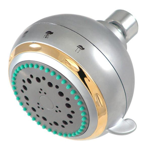 Kingston Brass Vilbosch 5-Setting Shower Head in Satin Nickel-Shower Faucets-Free Shipping-Directsinks.