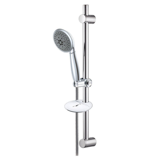 Kingston Brass Vilbosch Shower Combo with Sliding Bar and Hand Shower-Shower Faucets-Free Shipping-Directsinks.
