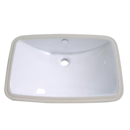 Kingston Brass Forum White China Undermount Bathroom Sink with Overflow Hole-Bathroom Sinks-Free Shipping-Directsinks.