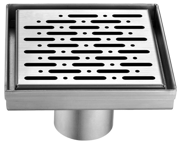 Dawn Rio Orinoco River Series - Square Shower Drain 5