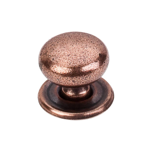 Top Knobs Britannia Victoria Knob with Backplate-DirectSinks