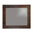 "Premier Copper Products 36"" Hand Hammered Rectangle Copper Mirror with Hand Forged Rivets-DirectSinks"