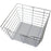 "Hardware Resources Plastic Liner for 16""D x 17""W x 6""H Closet Basket-DirectSinks"