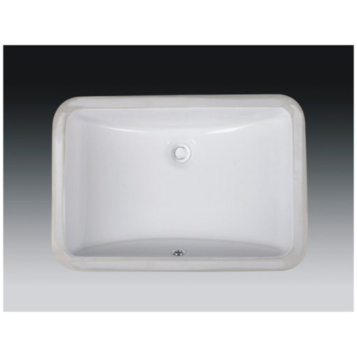 Wells Sinkware 21-Inch Rectangular Undermount Single Bowl Bathroom Sink-Bathroom Sinks Fast Shipping at Directsinks.