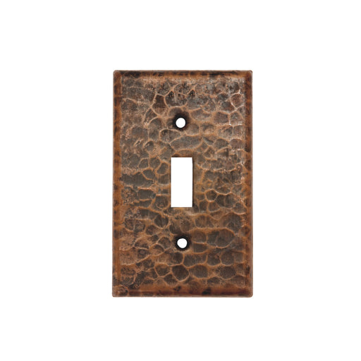 Premier Copper Products Copper Switchplate Single Toggle Switch Cover-DirectSinks