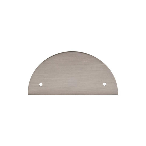 Top Knobs Half Circle Back Plate-DirectSinks