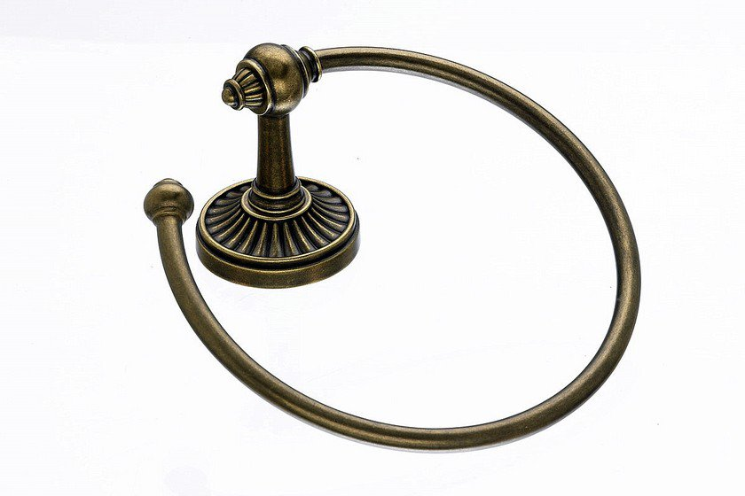 Topknobs TUSC5GBZ Towel Ring in German Bronze-DirectSinks