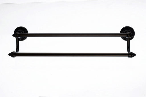 "Topknobs TUSC7ORB 18"" Double Towel Bar in Oil Rubbed Bronze"