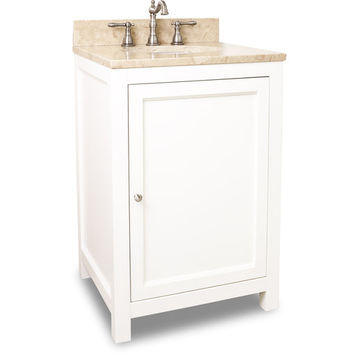 "Jeffrey Alexander VAN091-24-T 24"" wide solid wood vanity-DirectSinks"