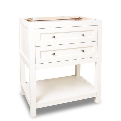 "Jeffrey Alexander VAN091-30-T 30"" wide solid wood vanity-DirectSinks"