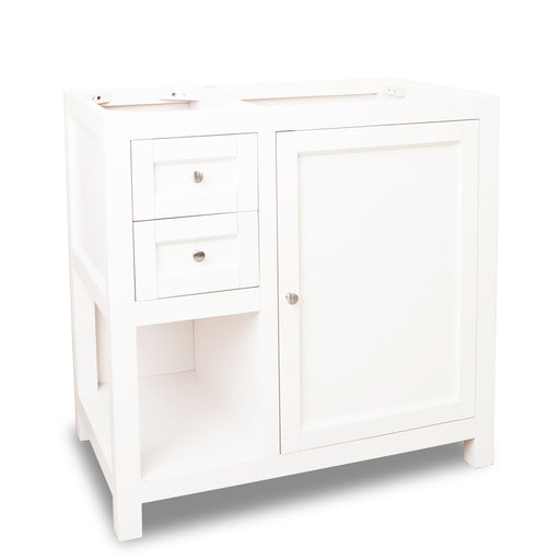 "Jeffrey Alexander VAN091-36-T 36"" wide solid wood vanity-DirectSinks"