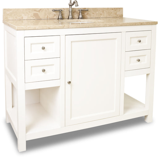 "Jeffrey Alexander VAN091-48-T 48"" wide solid wood vanity-DirectSinks"