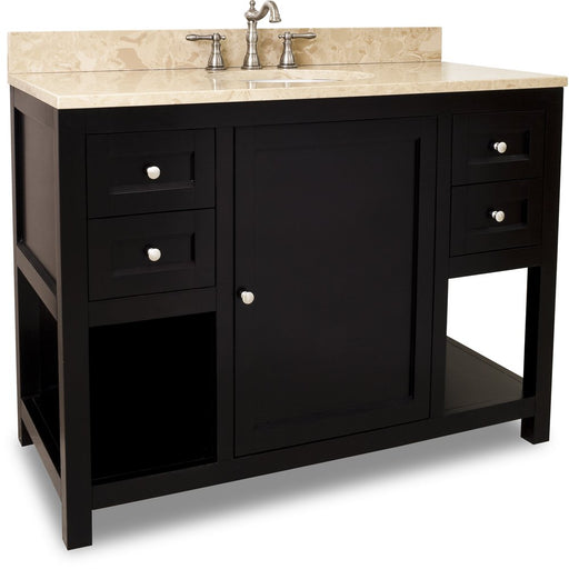 "Jeffrey Alexander VAN092-48-T 48"" wide solid wood vanity-DirectSinks"