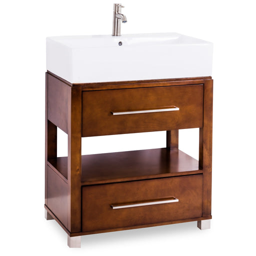 Jeffrey Alexander Wells Vessel Top Vanity-DirectSinks