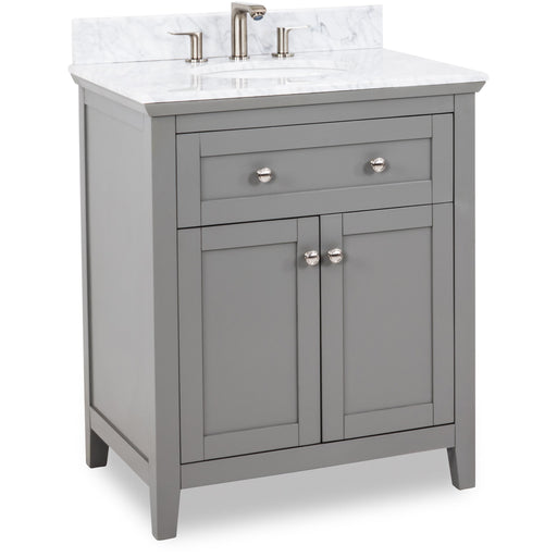 Jeffrey Alexander Chatham Shaker Vanity with Preassembled Top and Bowl-DirectSinks