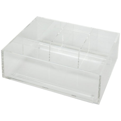 Hardware Resources Divided Acrylic Top Tray for Vanity Pullout-DirectSinks