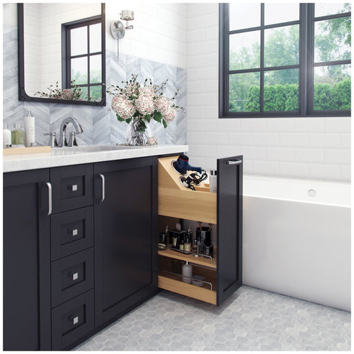 "Hardware Resources No Wiggle 8"" Vanity-height Cabinet Pullout-DirectSinks"