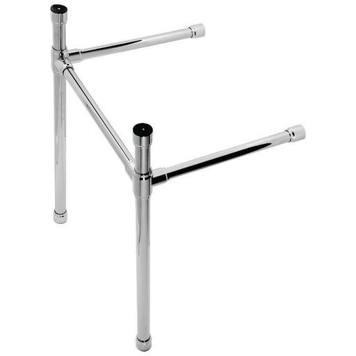 Kingston Brass VPB221833X-P Dreyfuss Stainless Steel Console Sink Leg