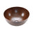 "Premier Copper Products 15"" Medium Round Vessel Hammered Copper Sink-DirectSinks"