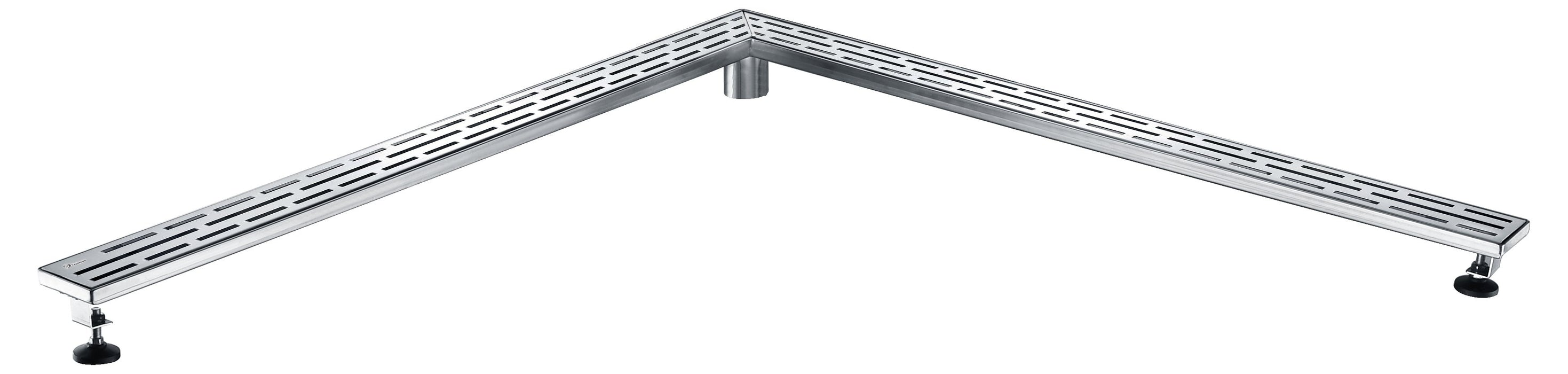 "Dawn Amazon River Series Corner Shower Drain 36"" x 36""-Bathroom Accessories Fast Shipping at DirectSinks."