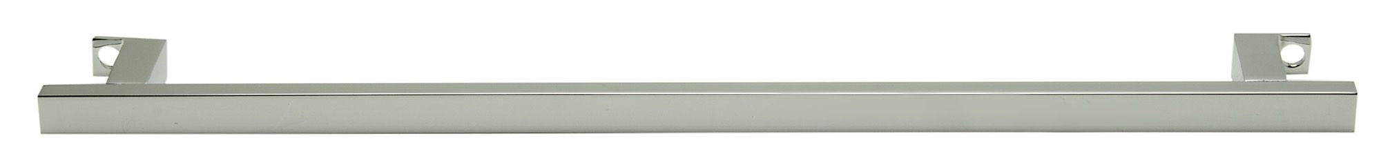 "17"" Chrome Squared Towel Bar Addition To The Ab108 Bathroom Sink Basin"