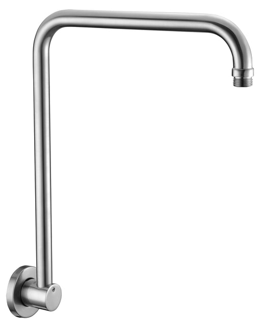 "ALFI brand AB12GRW 12"" Round Raised Wall Mounted Shower Arm-DirectSinks"