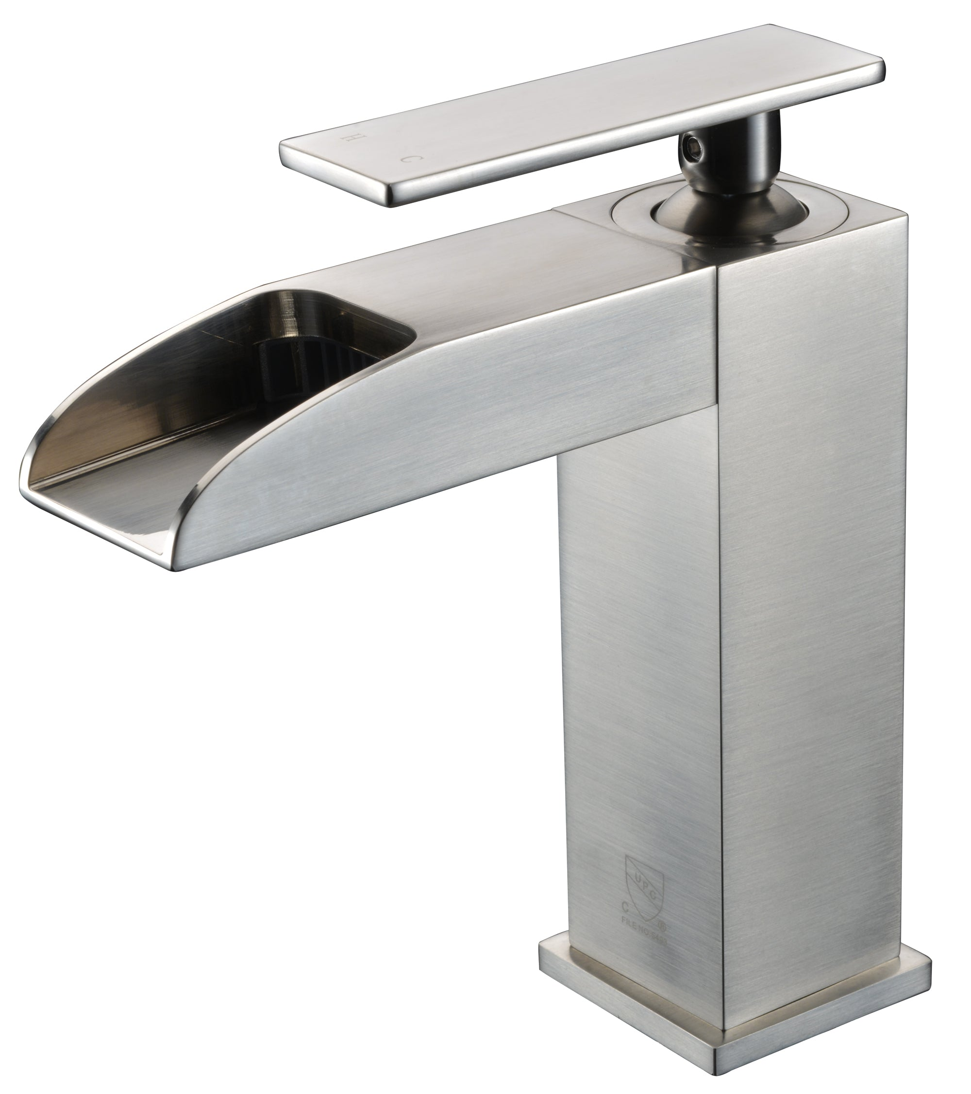 brass single high perfect end faucet sink two top nickel hole polished faucets with delta bathroom