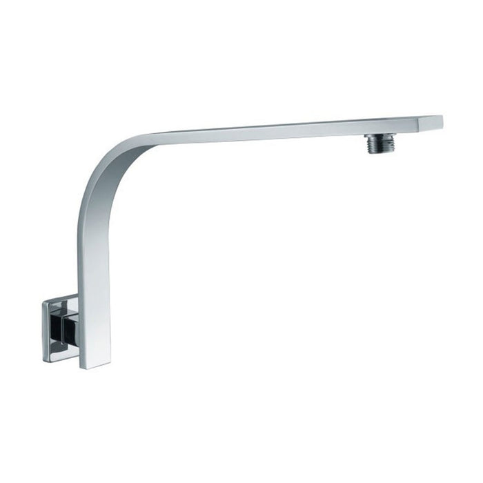 Alfi AB16GSW Square Wall Mounted Shower Arm for Rain Shower Heads