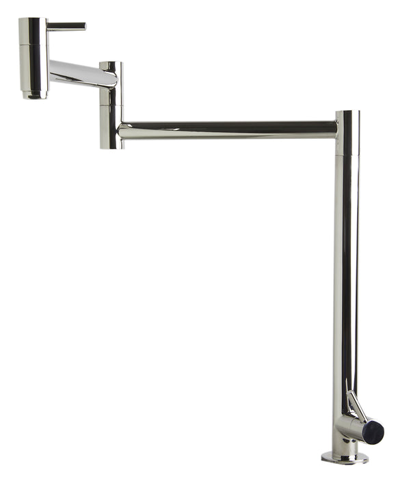 ALFI brand AB5018 Stainless Steel Retractable Pot Filler Faucet