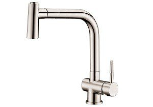 Dawn Single-Lever Pull-down Spray Kitchen Faucet-Kitchen Faucets Fast Shipping at DirectSinks.