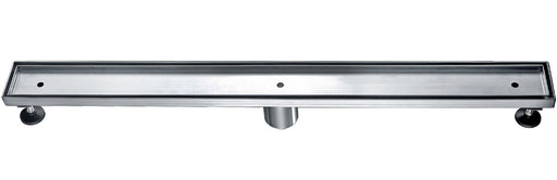 "ALFI brand ABLD32A 32"" Modern Stainless Steel Linear Shower Drain w/o Cover-DirectSinks"