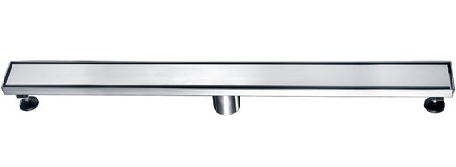 "ALFI brand ABLD32B 32"" Modern Stainless Steel Linear Shower Drain with Solid Cover-DirectSinks"