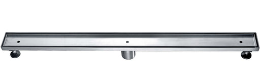"ALFI brand ABLD36A 36"" Modern Stainless Steel Linear Shower Drain w/o Cover-DirectSinks"